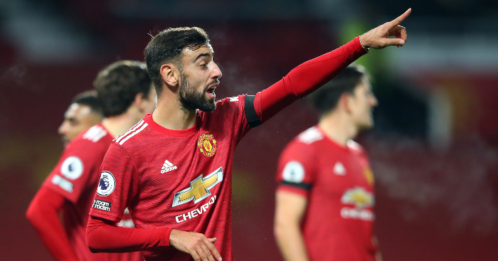 Fernandes reveals what Man Utd must improve to challenge Liverpool