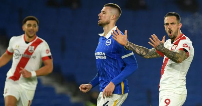 VAR strikes again as Ings penalty earns Southampton late win at Brighton