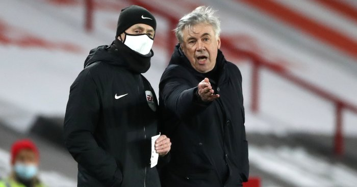 Ancelotti explains why he is 'lucky' to be at Everton as ambitions grow