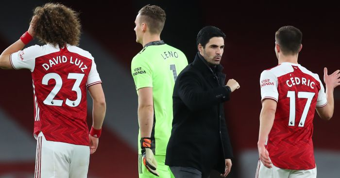 Arteta reveals Arsenal stars who 'put a smile on his face' after win