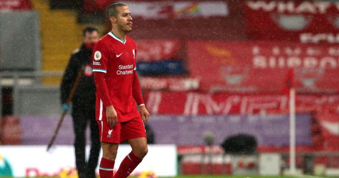 Thiago Alcantara Liverpool