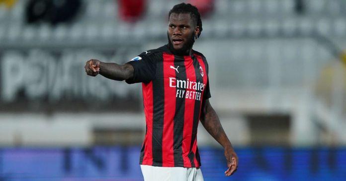 Franck Kessie Spezia v AC Milan Shkurt 2021