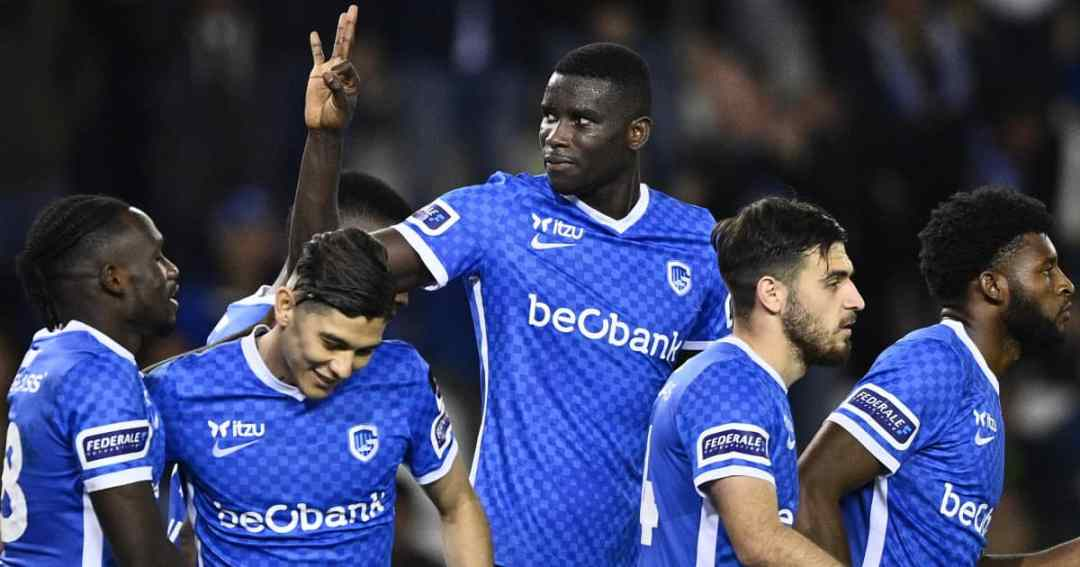 Genk striker Paul Onuachu 2021