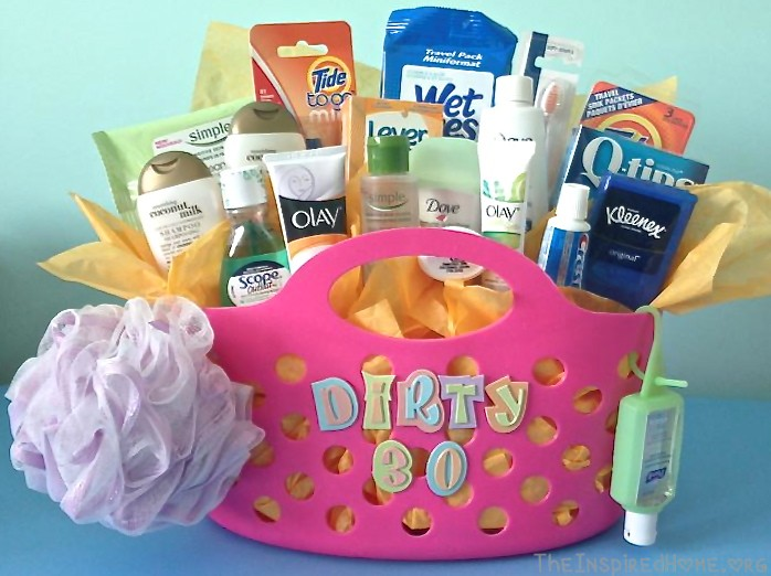 Dirty Thirty Gift Basket The Inspired Home