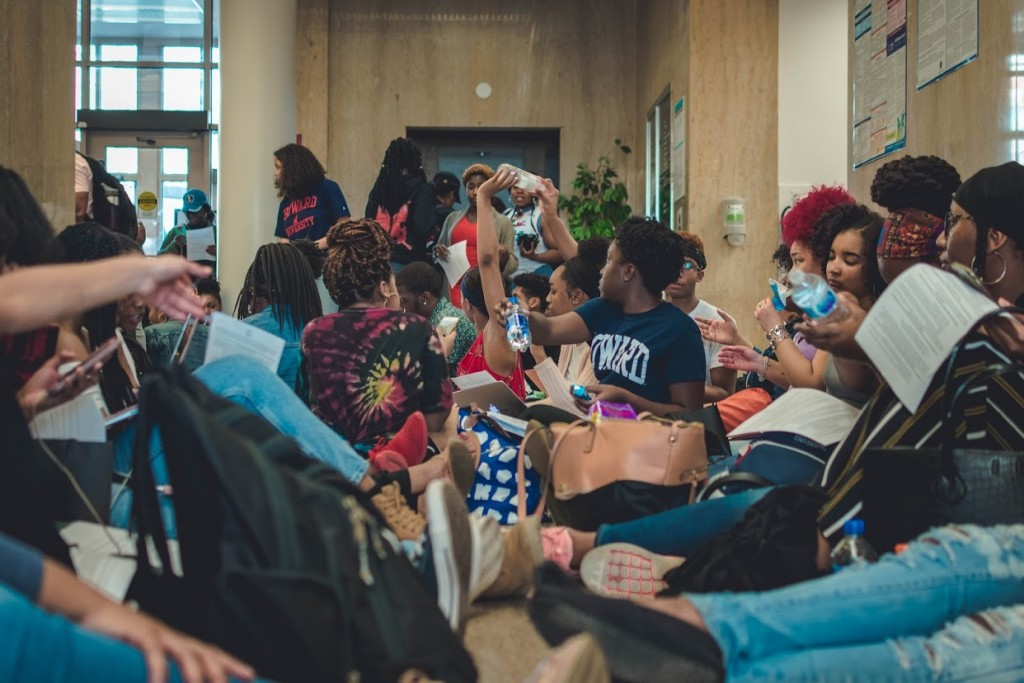 9-day student sit-in at Howard University comes to an end