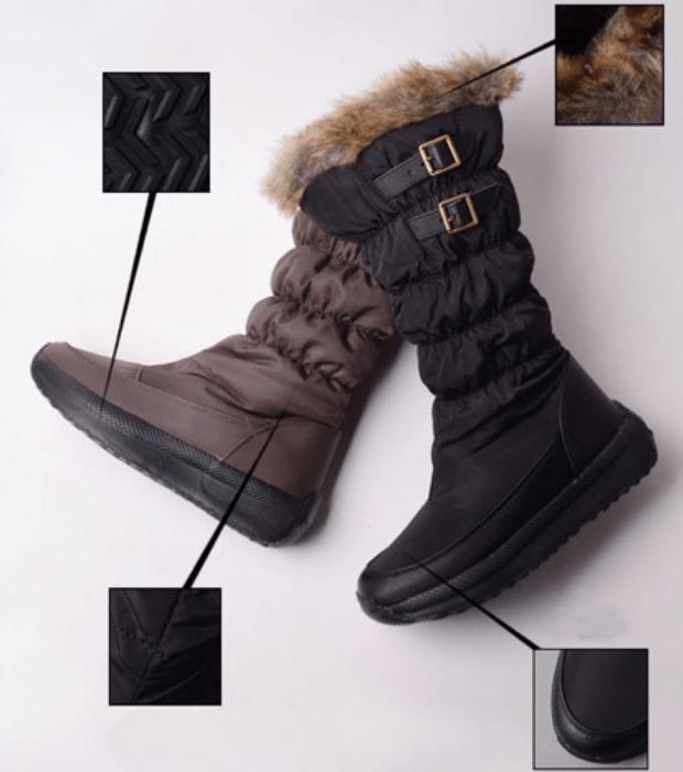 High Cut Winter Boots