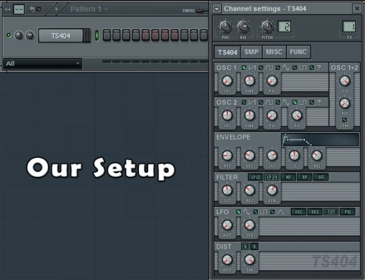 How to Create a 303 Synth Sound in FL Studio