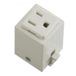 halo l966p power trac outlet adapter white