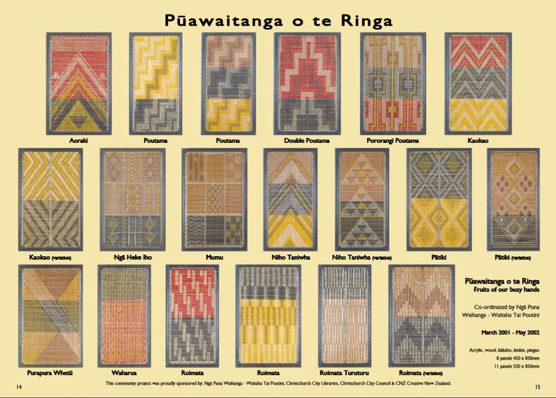 The Tukutuku Panels