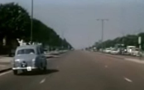 Instructor's 1963 journey shows how Britain's roads have changed
