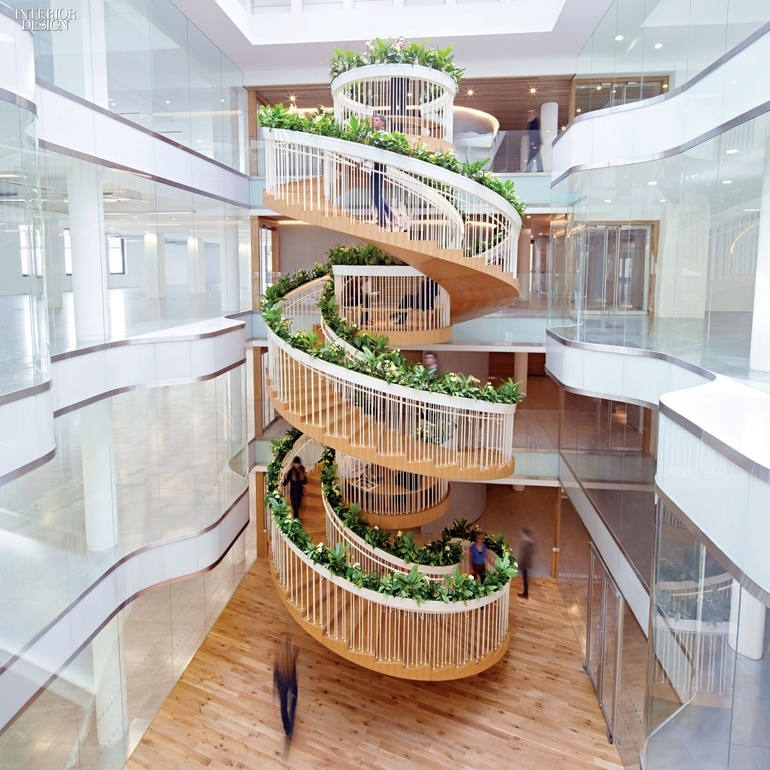 8 Simply Amazing Spiral Staircases Interior Design Magazine   8 Ft Spiral Staircase   Staircase Ideas   Prefab   Curved Staircase   Staircase Remodel   Wood