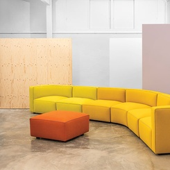 Andreu World Seats Individualists and Huddlers With Hula and Dado