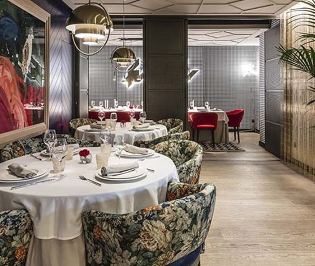 Cesar Anca Returns To Madrid With Radiant Restaurant By Estudihac
