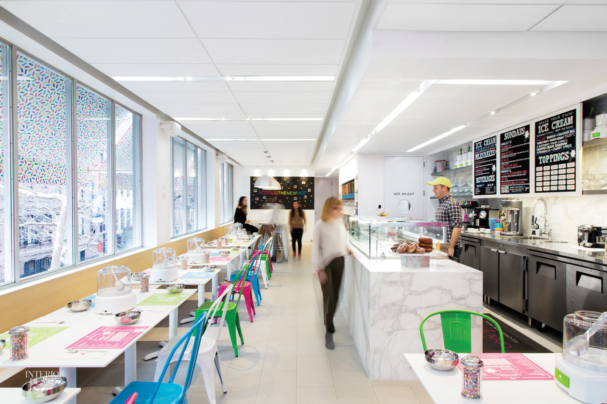 Gensler New York Whips Up Playful Space For CoolMess