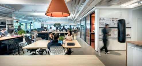7 Firms Design Their Own Office Firm  M Moser Associates  Site  Hong Kong  Photography by M Moser  Associates