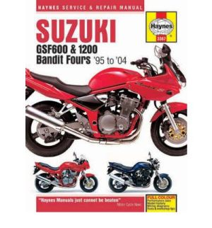 Suzuki GSF600 and 1200 Bandit Fours Service and Repair Manual