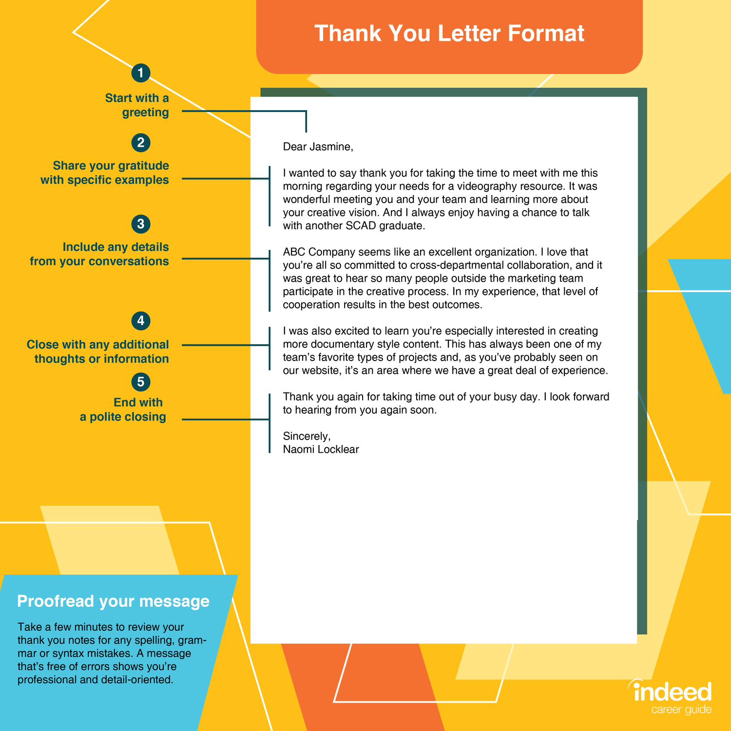 How To Write An Appreciation Letter With Examples Indeed Com