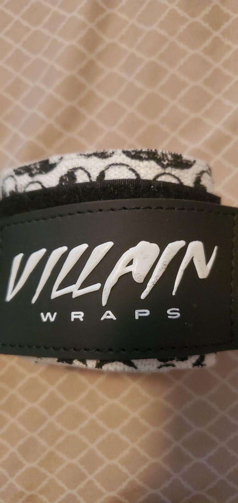 Villain Sidekick Wrist Wraps 16 Quot Skull Powerlifting