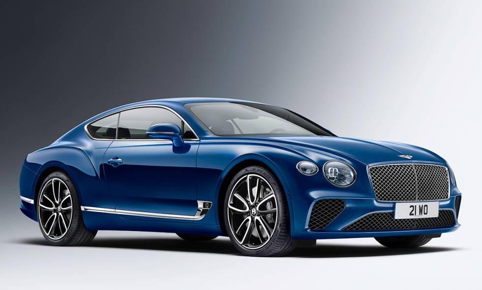 Exterior del Bentley GT.