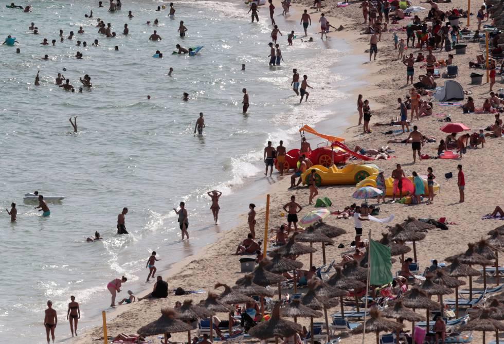 Playa Magalluf.