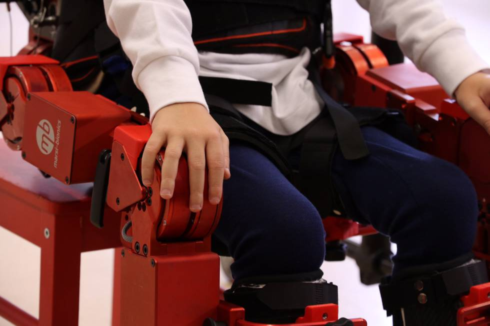 El primer exoesqueleto robótico infantil, un éxito de la I+D española