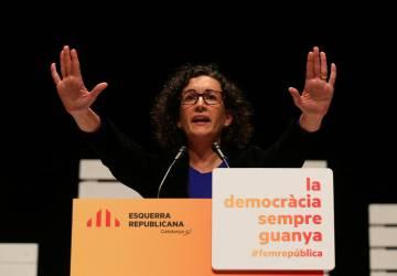 La líder de ERC, Marta Rovira.