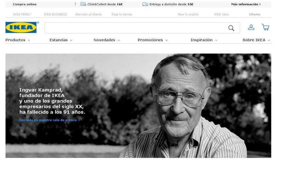 Muere a los 91 años Ingvar Kamprad, el austero padre de Ikea