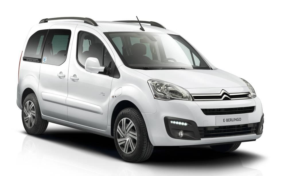 Citroën Berlingo Multispace. Muy usada en la última milla, tiene 170 km de autonomía y un maletero de 675 litros.