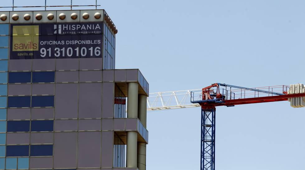 Oficinas de Hispania en Madrid.