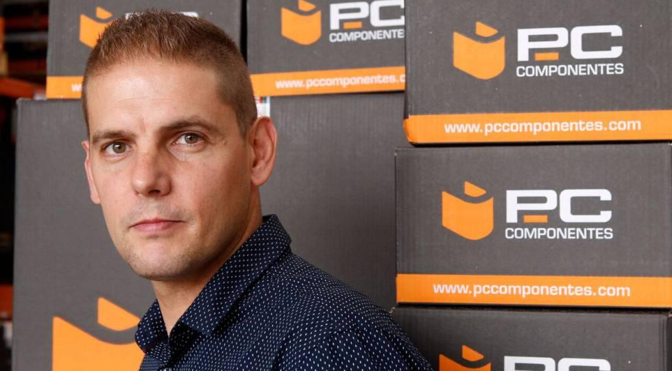 Luis Pérez, director general de PcComponentes.