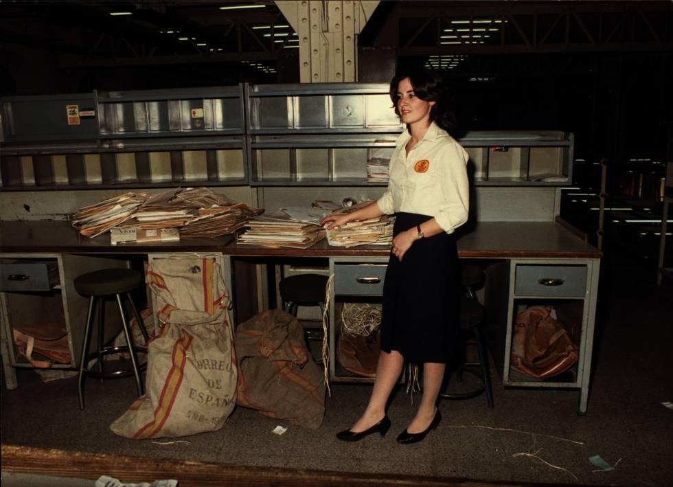 Servicio postal en los años sesenta.