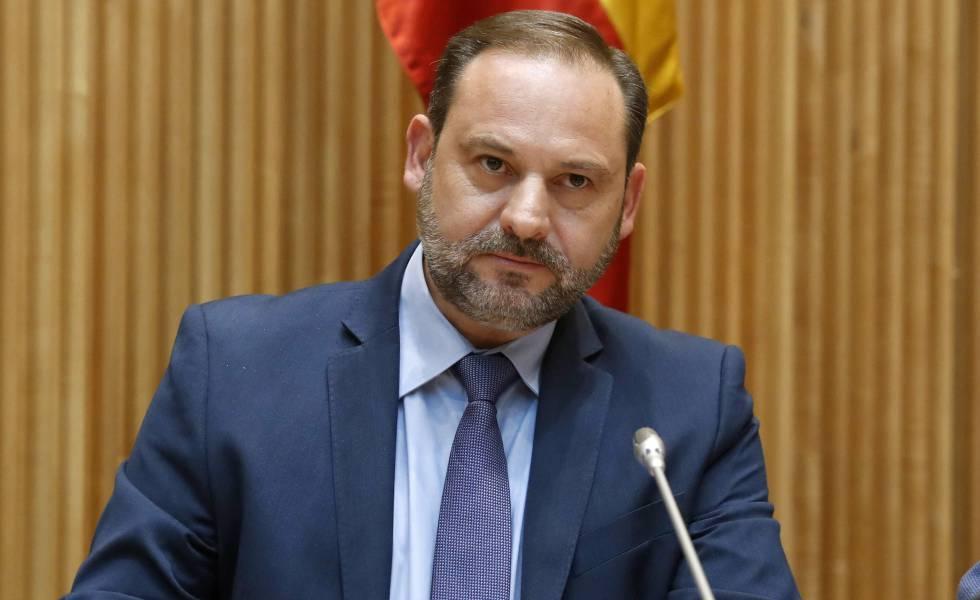El ministro de Fomento,José Luis Ábalos.