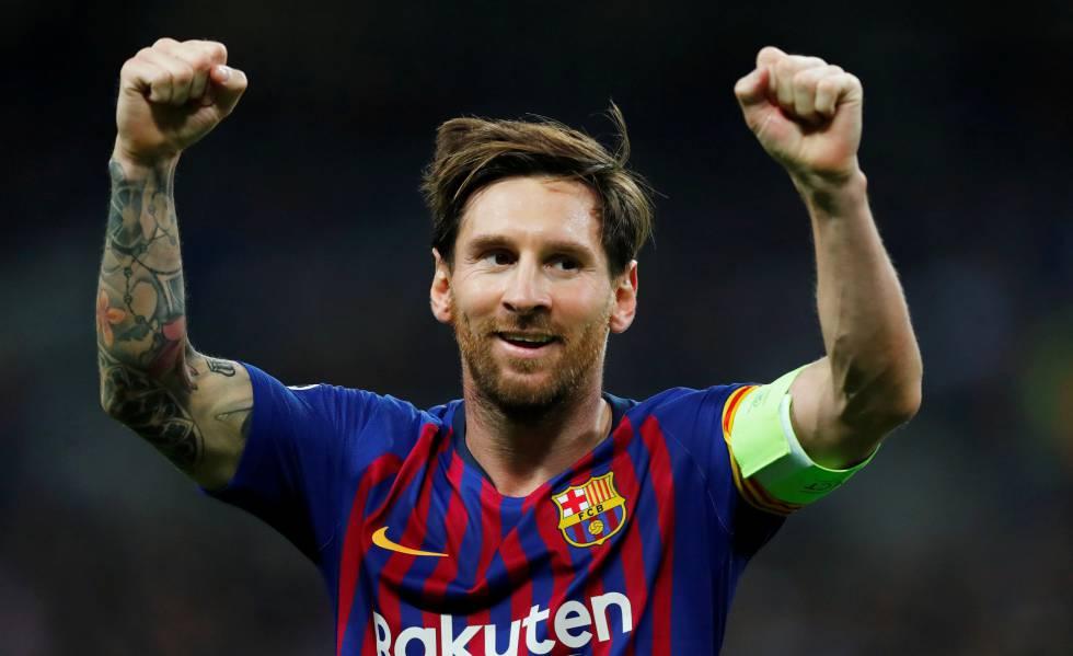 La estrella y capitán del FC Barcelona, Leo Messi.