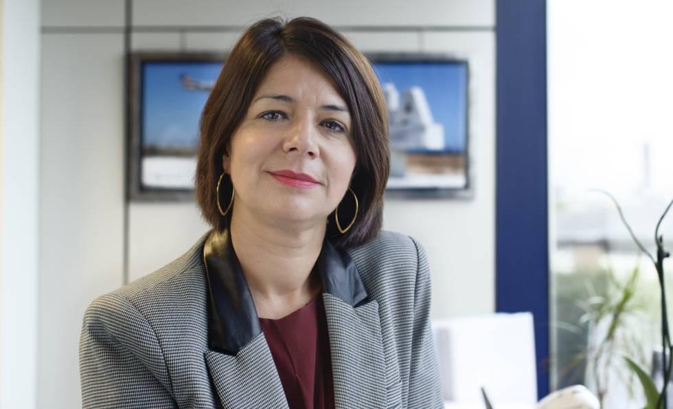 María José Cuenda, nueva directora general del negocio no regulado de Aena.