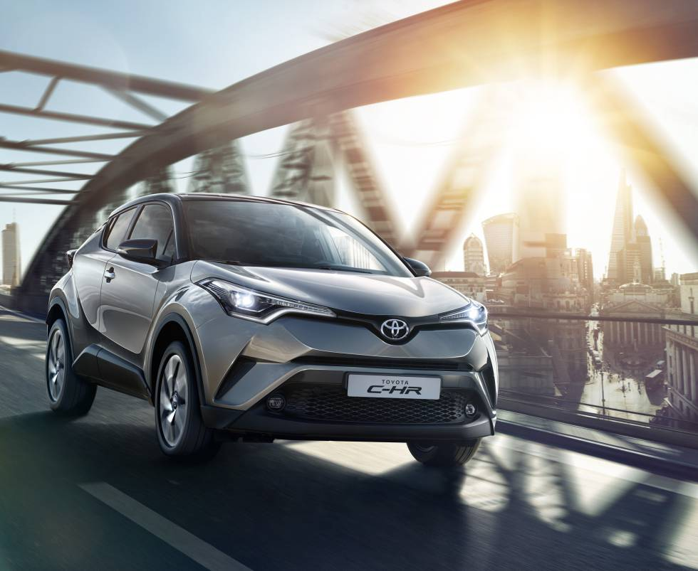 Toyota C-HR, la nueva apuesta de la marca.