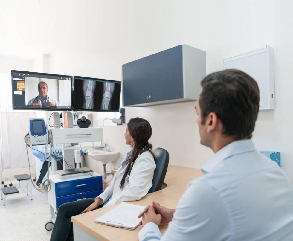 Médicos y empresarios se comunican a distancia con el sistema de Tixeo.