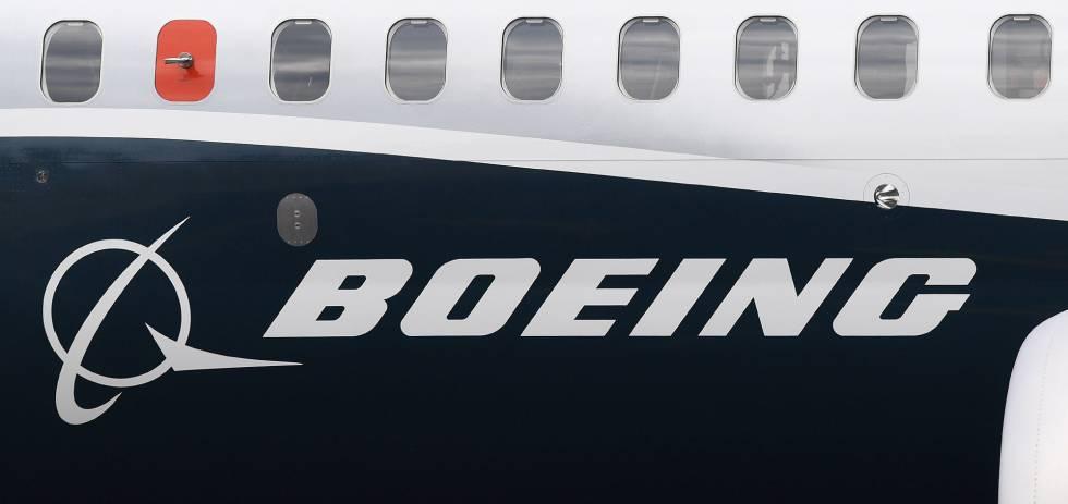 Fotografía de archivo que muestra el logotipo de Boeing.