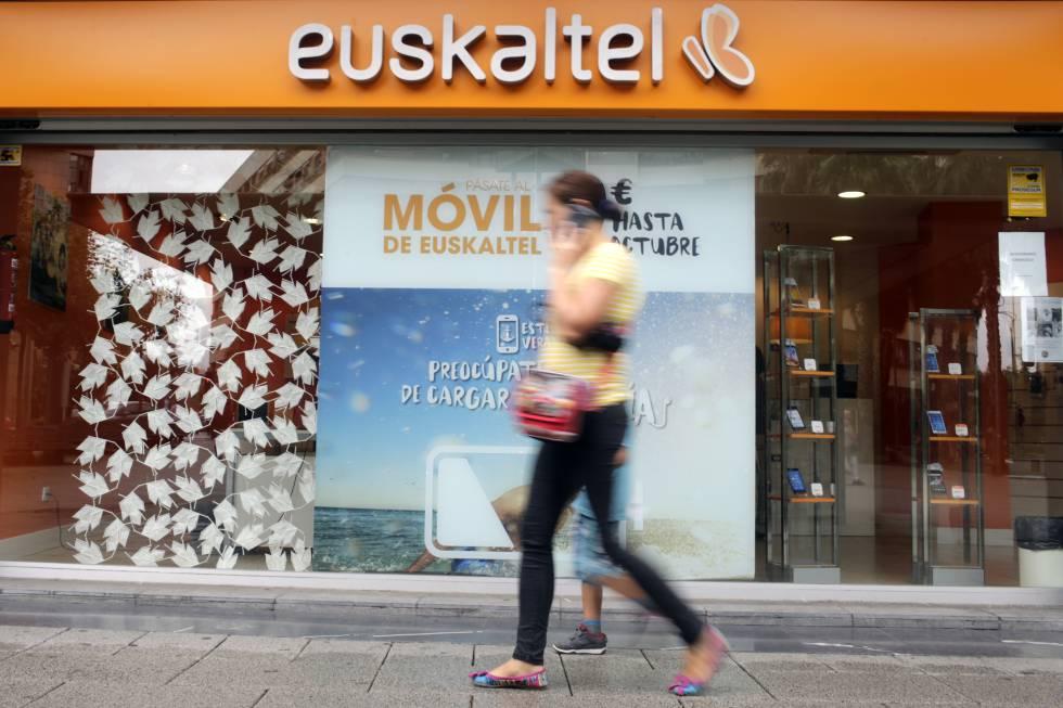 Uno de los establecimientos de Euskaltel.