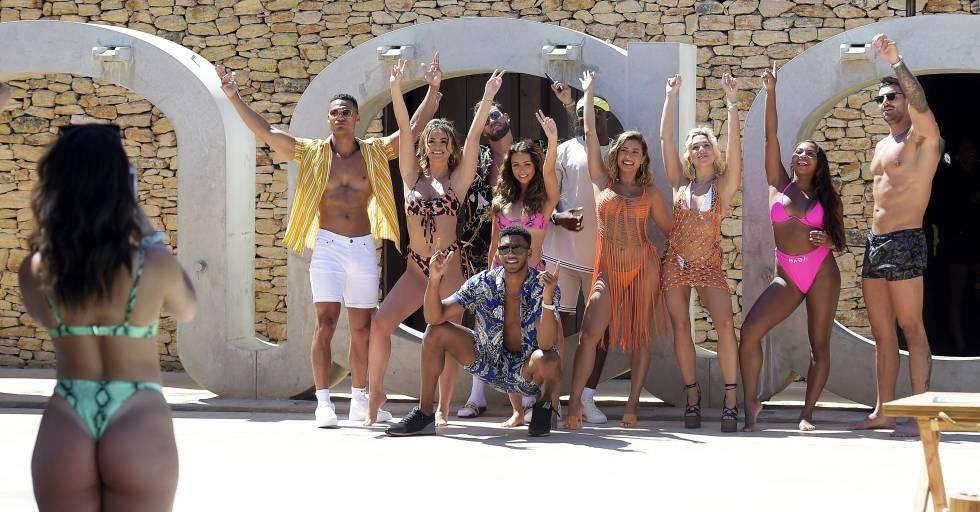 Una sesión fotográfica de influencers de Boohoo, este verano en Marbella
