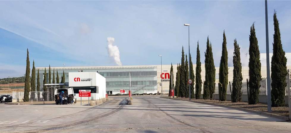 Instalaciones de la compañía en Fustiñana, Navarra.