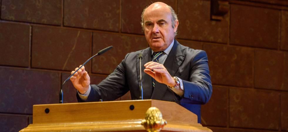 El vicepresidente del Banco Central Europeo, Luis de Guindos,