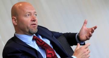 Yngve Slyngstad, exconsejero delegado del fondo soberano noruego NBIM