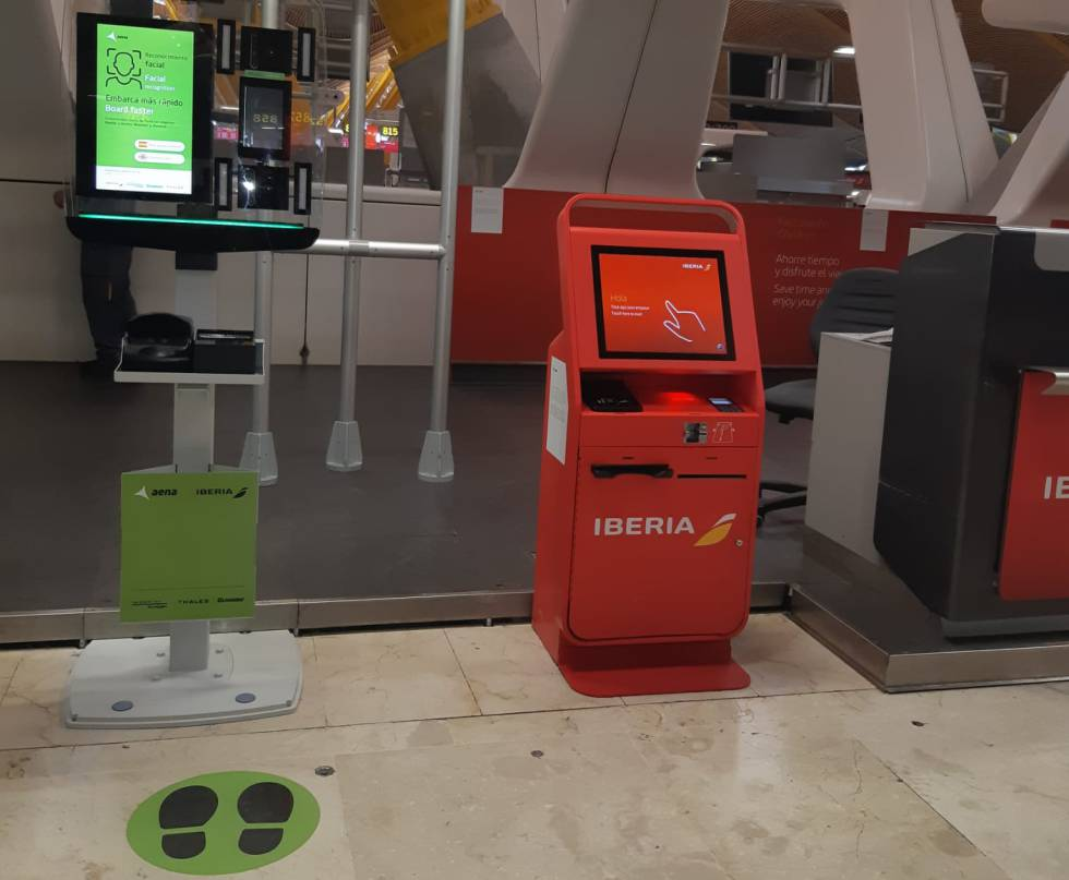 Aena e Iberia implantan en Barajas el reconocimiento facial para embarcar