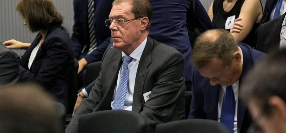 Domingo Parra en una foto del juicio celebrado en septiembre de 2018