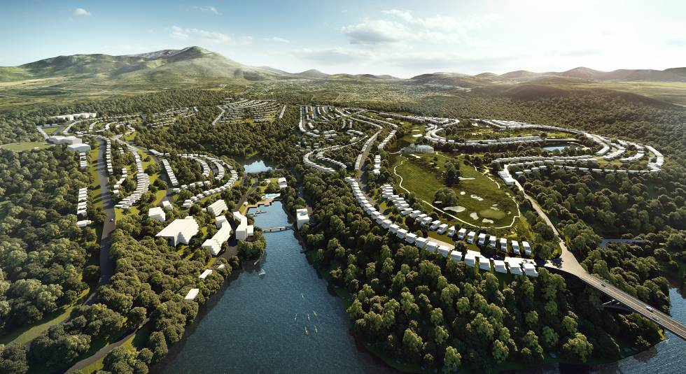La familia Gil y Neinor lanzan la comercialización de la nueva urbanización Air Homes Club