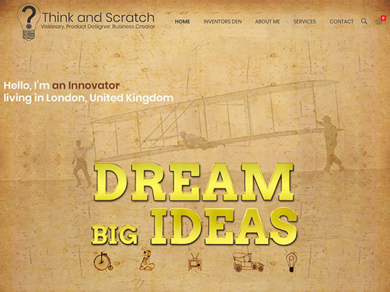 Websites-Thinkandscratch