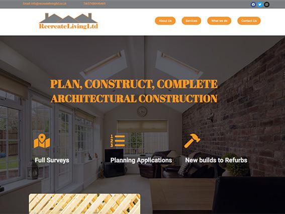 Recreate Living Website