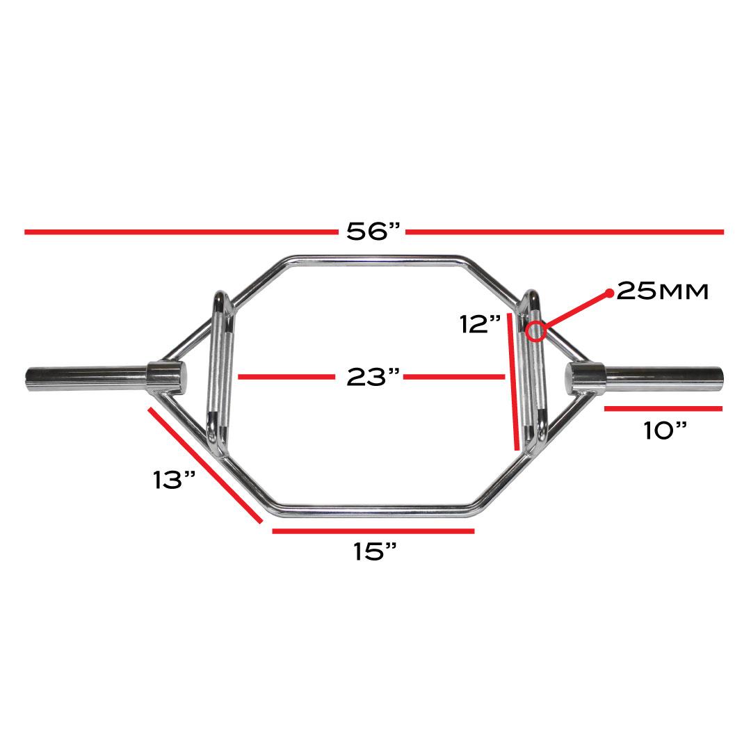 X Training Hexagon Trap Bar