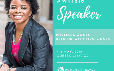 Speaking at the Women in Travel Summit in Quebec City #WITS18