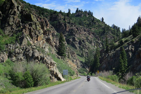 Atlantic to Pacific Guided Motorcycle Tours, Montrose